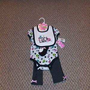 Baby Gear 4pc adorable set 💕